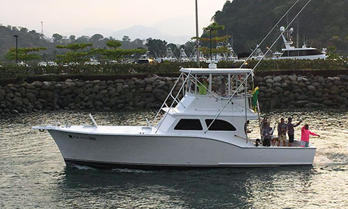 Sport Fishing - Our Fleet - Costa Rica Dream Makers