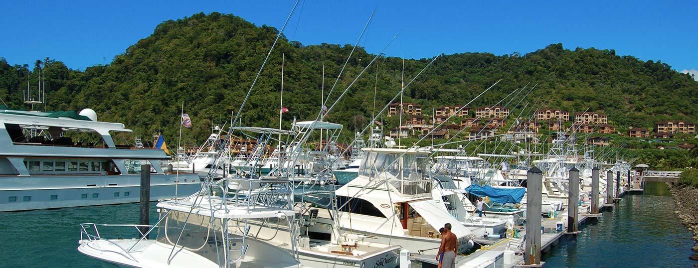 Feb 2011. The Hook Up at Los Sueños Marriott resort: Playa Herradura.